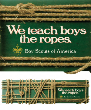 ... Scouts of America to develop a pro-bono ad for scouts awareness and