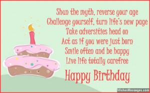 ... often and be happy, live life totally carefree. Happy 35th birthday