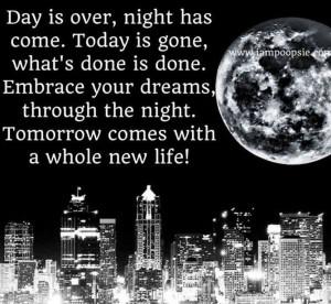 New day tomorrow quote via www.IamPoopsie.com