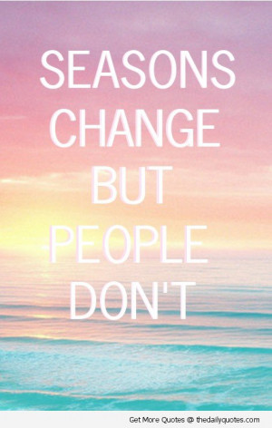 people dont change break up sad unhappy quotes images pics sayings ...