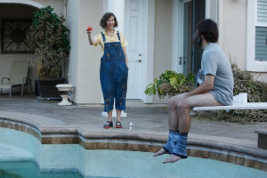 Still of Will Forte and Kristen Schaal in The Last Man on Earth (2015)