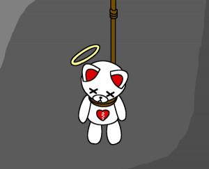 the sad teddy bear II by shy-girl18