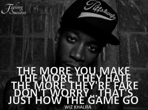 wiz khalifa quotes about haters