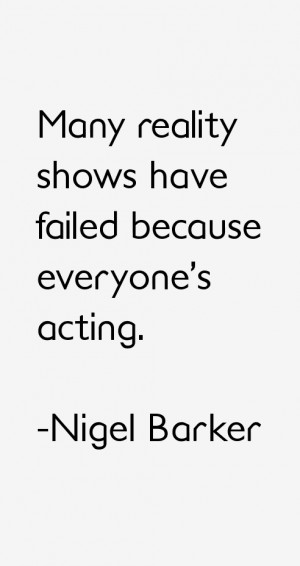 Nigel Barker Quotes & Sayings