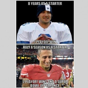 NFL fans using Colin Kaepernick's quick success with 49ers to mock ...
