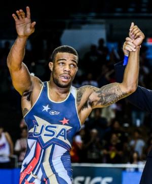 Jordan Burroughs is riding a 54-match win streak (Photo/Tony Rotundo ...