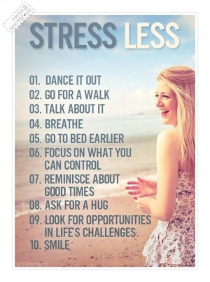 Stress less quote