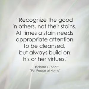 LDS Quote   Richard G. Scott http://sprinklesonmyicecream.blogspot.com ...