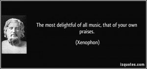 Xenophon Quote