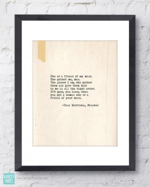 Toni Morrison Beloved Quote. Inspirational Art Print. Typographic ...