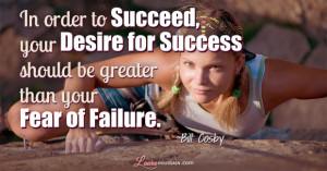 Bill Cosby Success Quote
