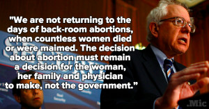 Powerful Quotes That Prove Bernie Sanders Is a Damn Good Feminist