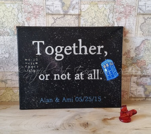 Doctor Who Romance quote, Romantic Quote,Love quote, Geek Love, Doctor ...