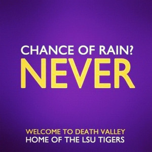 Check Out These Awesome Beat Bama Pictures Made By LSU Tigers Fans