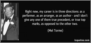 More Mel Torme Quotes