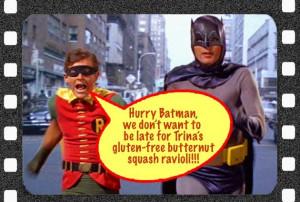 Holy Batman Holy butternut batman!
