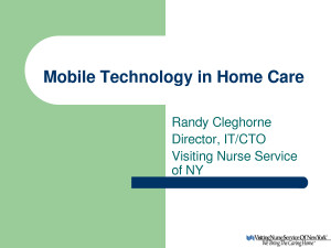 Mobile Technology Health Care