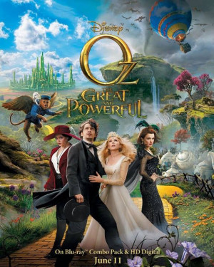 Last week the film Oz the Great and Powerful was released on Blu-ray ...