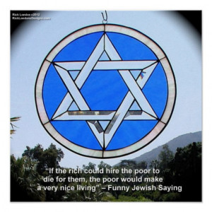 star_of_david_w_funny_jewish_quote_poster ...