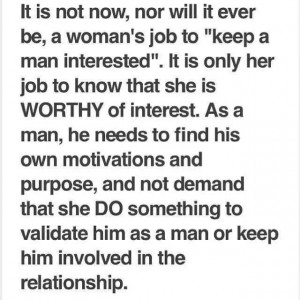 Woman know your WORTH!