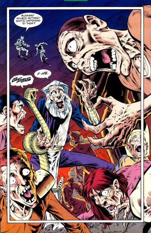 Pre Crisis Darkseid Dormammu Battles Vine