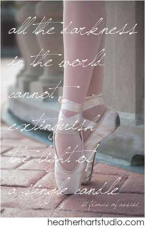 Ballet Quote, Pointe Shoes, Ballet Art Print Modern Ballet Dance by ...