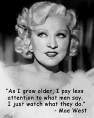 Mae West quotes