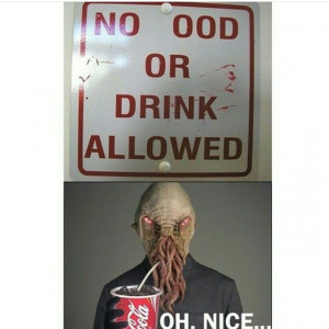 Shout out to all my whovian followers out there #ood #drink #sign ...