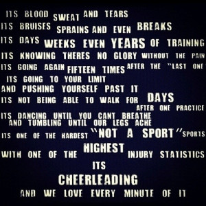 Cheer quote Locker Signs next year?