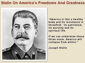 Stalin – America Collapse