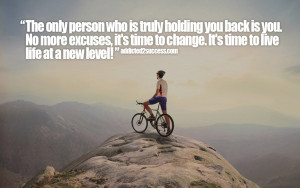 No more excuses pic quote
