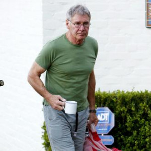 Harrison Ford joked he was ''lightly sedated'' when talking about his ...