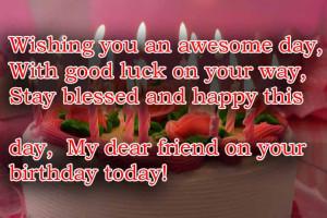 Happy Birthday Friend - Top 50 Friend's Birthday Wishes