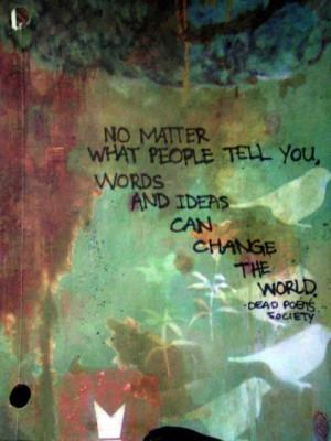dead poet society quote