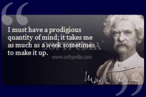 Mark Twain\x26#39;s Quotes screenshot