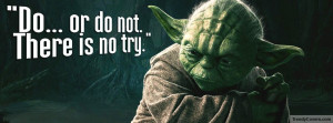 Yoda Quote Facebook Covers