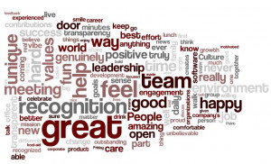 ... are common reasons employees said they appreciate their workplace