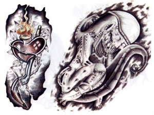 Evil Tattoos Designs Free To Download And Print