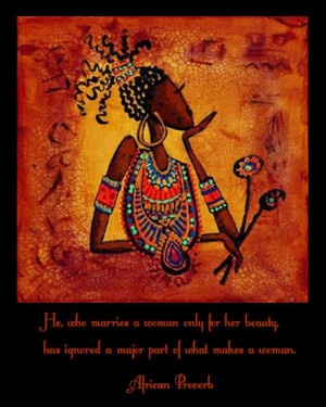 African proverbs, sayings and quotes on love and marriage