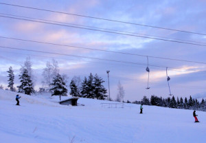 Swedes hit the slopes in December