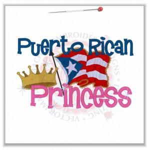 Sayings (4596) Puerto Rican Princess 5x7