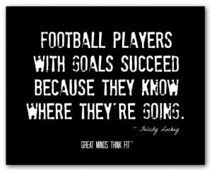 FOOTBALL PLAYER QUOTES AND SAYINGS