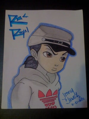of Riley:http://darkgx.deviantart.com/art/The-Boondocks-Riley-Freeman ...