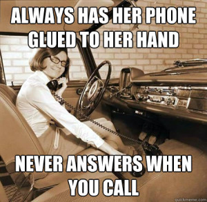 """That phone is glued to her hand!"""" A father laments over his ..."""