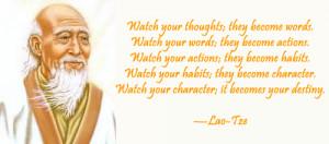 Lao Tzu Quote :: Motivational Quote