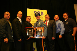 Officers honored for bravery by The 200 Club of Bergen County