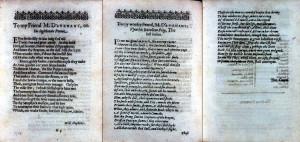 Davenant, The Just Italian (1630): sigs. A3r, A3v, A4r