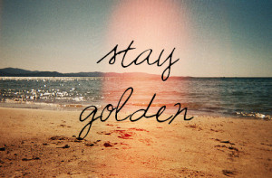 Stay Gold The Outsiders ponyboy stay golden