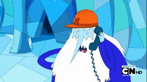 Ice King as Mr. Garamblington