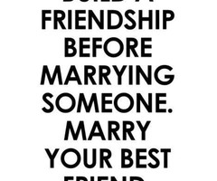 Tagged with marry your best friend